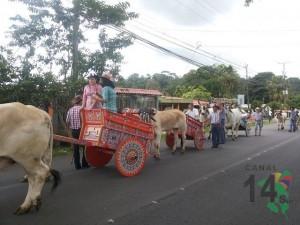 Desfile de Transportes de los años 40
