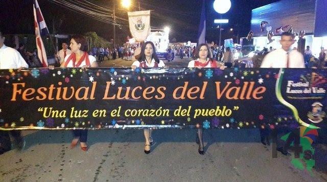 Desfile Luces del Valle 2014