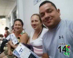 La generaleña quien falleció es la primera de izquierda a derecha. Foto tomada del perfil de Facebook de Roger Núñez.